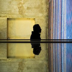 JOYEUX NOÊL² (JM@MC) Tags: avignon square carré urbain shadow silouhette ombre quad