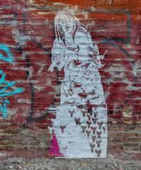 Public Art (J Wells S) Tags: alleyart wallart publicart mural streetart bricks urban urbanart findlaymarket overtherhine otr cincinnati ohio blinkcincinnati