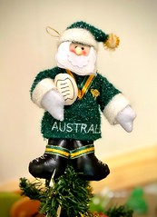 Merry Christmas from Australia (NettyA) Tags: wallabies rugby australia aussie decoration merrychristmas