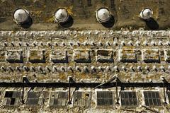 In Need Of Some Repairs (Texaselephant) Tags: fortworth fortworthpowerandlightcompany windows vents powerplant weathered abandoned neglected smörgåsbord mavic dji mavicpro2