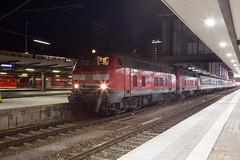 DB 218 403 + 218 465 München Hbf (daveymills37886) Tags: db 218 403 465 münchen hbf baureihe v160
