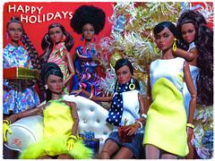 A Very Poppy Christmas (FashionDragon) Tags: africanamerican poppyparker blackbarbie fashionroyalty nuface fashiondoll designerdoll jessyayala davidbuttery byronlars jasonwu stephenburrows bobmackie integritytoys blackdoll
