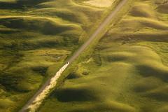 Dream of Summer (TigerPal) Tags: saskatchewan sask exploration prairie plains rural aerial birdseye cessna road openroad dreamofsummer dust dirthills