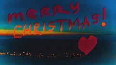 M e r r y _ C h r i s t m a s !!! (polyneutron) Tags: photography forza night lights text winter snow christmas