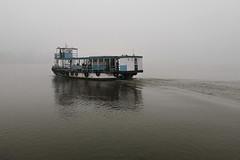 Misty Ganges (draskd) Tags: ganges mist ferryboat boat cold winter dawn morning river riverlife kolkata