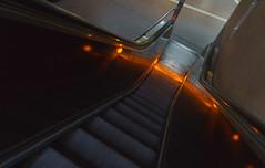Down to the Underground (frankdorgathen) Tags: alpha6000 sony18200mm essen ruhrgebiet ruhrpott rüttenscheid rüttenscheiderstern city urban perspektive perspective metro underground subway station ubahn escalator rolltreppe