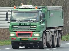 Ginaf X4345 TSV from Spiele Holland. (capelleaandenijssel) Tags: bxdv71 truck trailer lorry camion lkw tipper