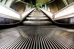 Practiced are My Sins (Thomas Hawk) Tags: america california losangeles metrorail usa unitedstates unitedstatesofamerica escalator subway fav10 fav25 fav50 fav100