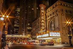 (jfre81) Tags: chicago theater marquee light night long exposure landmark icon architecture downtown loop core 312 windy second city urban james fremont photography jfre81 canon rebel xs eos