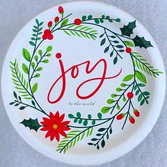 joy to the world (Timothy Valentine) Tags: 1219 paperplate home 2019 christmas squaredcircle eastbridgewater massachusetts unitedstatesofamerica