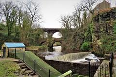 River Goyt & the Torrs, New Mills, Peak District (HighPeak92) Tags: rivers riversett rivergoyt thetorrs bridges churchroadbridge newmills peakdistrict derbyshire canonpowershotsx740hs