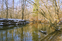 025272a  Colors Run In Aman Park (David G. Hoffman) Tags: reflections trees fallcolors creek