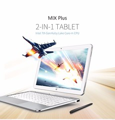 AlldoCube/Cube Mix plus 2 in 1 Tablet PC Windows10 OS 10.6″ 1920*1080 IPS intel Kabylake 7Y30 Dual Core 4GB Ram 128GB Rom (alaaxprss) Tags: