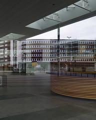 Reflection stuff (frankdorgathen) Tags: alpha6000 sony18200mm city urban ruhrgebiet ruhrpott rüttenscheid essen spiegelung reflection fair messeessen