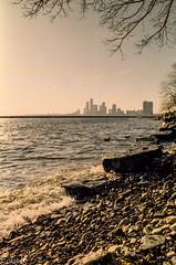 Kodak gold Mississauga and the Lake Ontario (Uta_kv) Tags: f2 filmphotography c41 homedeveloped nokia kodakgold kodak 35mm film nokiaf2