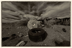 Tire Rock (mikerosebery) Tags: newmexico nm lascruces