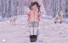 L.O.T.D. 12.25.19 (Emery/Teagan Parker) Tags: crybaby littlemiss gypsyheart theforest halfdeer fawn polorbear pink coal denim winter holiday christmas cold yumyum zenith