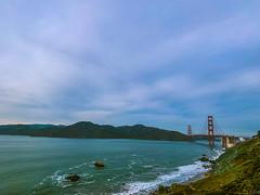 The bay. (AzimSohielPHHS) Tags: simplysuperb time free foryou hco ngo old new camera shoot goldengate bridge xs iphone myiphone photography photo sanfrancisco sf bayarea bay