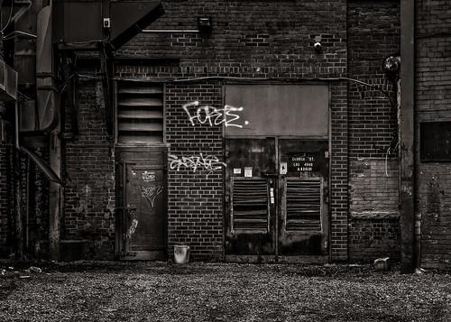 Alleyway Graffiti No 3