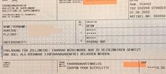 """Ergänzungsschein international für Fahrräder • <a style=""""font-size:0.8em;"""" href=""""http://www.flickr.com/photos/79906204@N00/49273846778/"""" target=""""_blank"""">View on Flickr</a>"""
