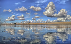 Oasis Reflections (Michael F. Nyiri) Tags: clouds california cloudscapes sealbeach orangecounty southerncalifornia pacificocean reflections