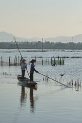 Fishing (fredMin) Tags: 90 hué boat lake asia vietnam beauty fishing travel xt2 fujifilm