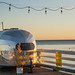 Airstream Trailer on Malibu Pier - Malibu, California
