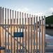Gate at Sunset on Malibu Pier - Malibu, California