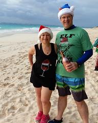Christmas on the Beach at Elbow Beach, Bermuda