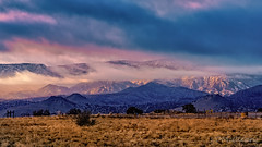 Christmas Morning Sunrise on Jemez Mountains (LDMcCleary) Tags: sunrise christmas morning mountains jemez newmexico color snow 85mm gm clouds