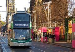 Christmas Day out East and West (SRB Photography Edinburgh) Tags: lothian buses edinburgh transport christmas day special service scotland