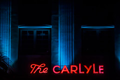 The Nights and Lights of South Beach (Thomas Hawk) Tags: carlyle carlylehotel florida miami miamibeach southbeach thecarlyle usa unitedstates unitedstatesofamerica neon fav10 fav25