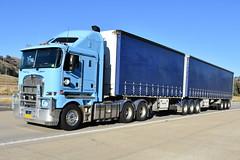 Kenworth K200 (Scottyb28) Tags: truck trucks trucking highway haulage diesel loaded