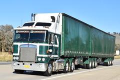 Freds Interstate Transport - Kenworth K104 (Scottyb28) Tags: truck trucks trucking highway haulage diesel loaded