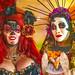 Women at Dia De Los Muertos