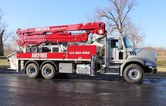 Baystate Concrete Pumping Truck (raserf) Tags: baystate concrete cement pump pumper pumping truck trucks putzmeister mack sturtevant wisconsin racine county montgomery massachusetts