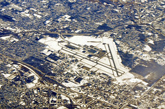 Syracuse Hancock International Airport (Infinity & Beyond Photography: Kev Cook) Tags: syracuse hancock international airport newyork snowy landscape winter city cityscape aerial photos