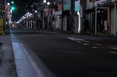 """YAMATO CITY  """"Green Light"""" (Donald Douglas) Tags: 大和市 yamato city peaceful japan nightime kanagawa prefecture"""