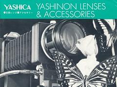 Yashica Brochure - 1973 (in explore) (http://www.yashicasailorboy.com) Tags: yashicatomioka japan lens catalog brochure 1970s photography yashica tomioka