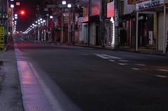 """YAMATO CITY  """"RED LIGHT"""" (Donald Douglas) Tags: yamato city 大和市 nightime peaceful kanagawa prefecture japan"""