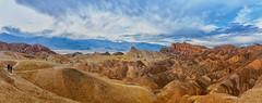 The View from Zabriskie Point (KPortin) Tags: zabriskiepoint deathvalleynationalpark sandstone erosion desert mountains