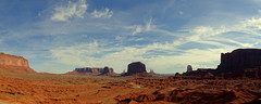 Monument Valley - Panorama, Utah (André-DD) Tags: monument valley monumentvalley utah navajo usa unitedstatesofamerica butte buttes nature natur panorama scenery nationalreserve firstnations