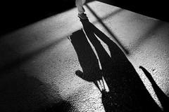 shadowman (heinzkren) Tags: schwarzweis blackandwhite monochrome shadow street canon canonr eos eosr minimalism man mann schatten abstract noiretblanc biancoetnero