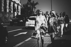 Please forget the words that I just blurted out (.KiLTЯo.) Tags: kiltro fr france montecarlo monaco woman girl street urban life people bw blackandwhite
