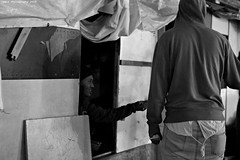 """Ghost Children Place 40"" (TBWLC Photography) Tags: fdrouet tbwlc nb bw monochrome street slum bidonville campdemigrants migrantcamp nikon d610 réfugiés refugees aubervilliers"