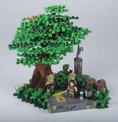 Kashyyyk Outpost (Ben Cossy) Tags: lego moc afol tfol star wars quinlan vos clone kashyyyk wookiee jedi order 66
