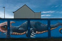 The colour wall I (jefvandenhoute) Tags: belgium belgië antwerpen merksem wall muralart