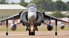 Harrier (Bernie Condon) Tags: riat airtattoo tattoo ffd fairford raffairford airfield aircraft plane flying aviation display airshow uk bae mcdonnelldouglas harrier av8b matador fighter span amada spanishnavy warplane jet vstol jumpjet