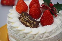 Christmas cake! (clvs7) Tags: christmascake xmascake christmas xmas cake fujiya