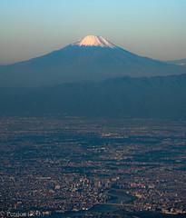Mount Fuji, Japan (Peraion) Tags: mountfuji japan aerialview morning sky